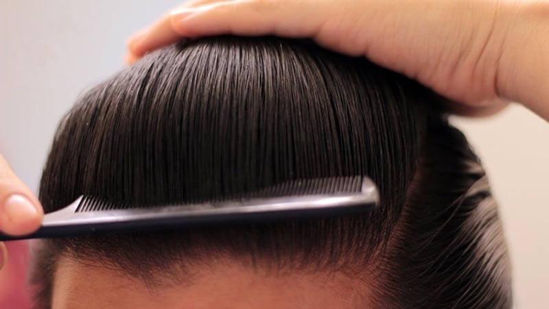 Cách tạo độ phồng cho tóc nam