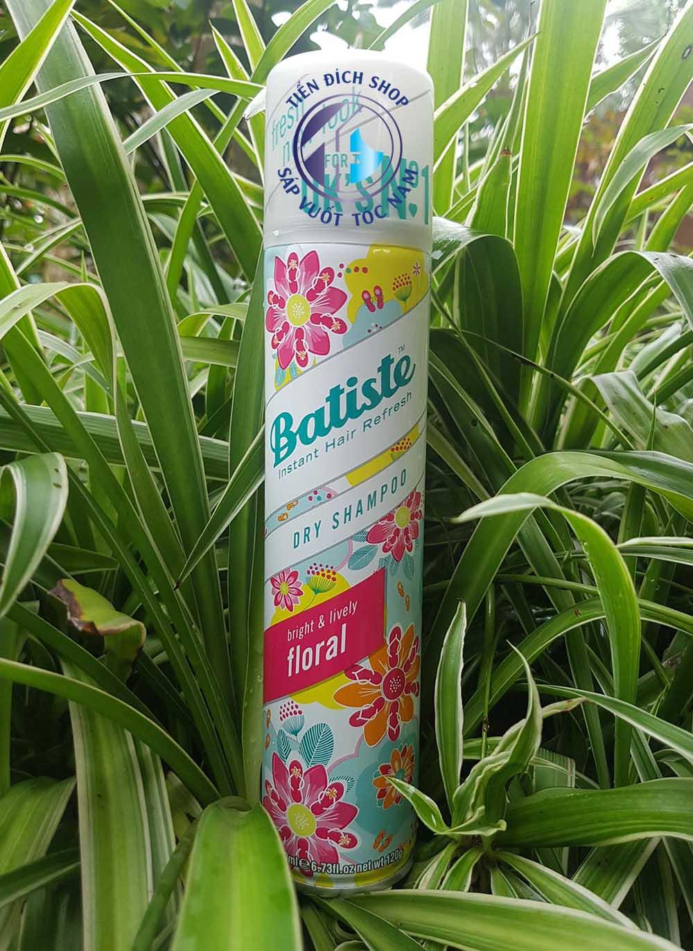 dầu gội khô Batiste floral