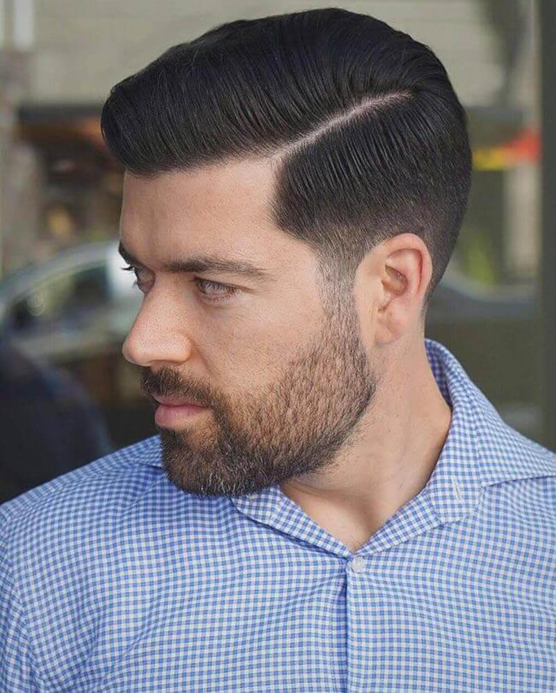 kiểu tóc nam Pompadour xu hướng 2018
