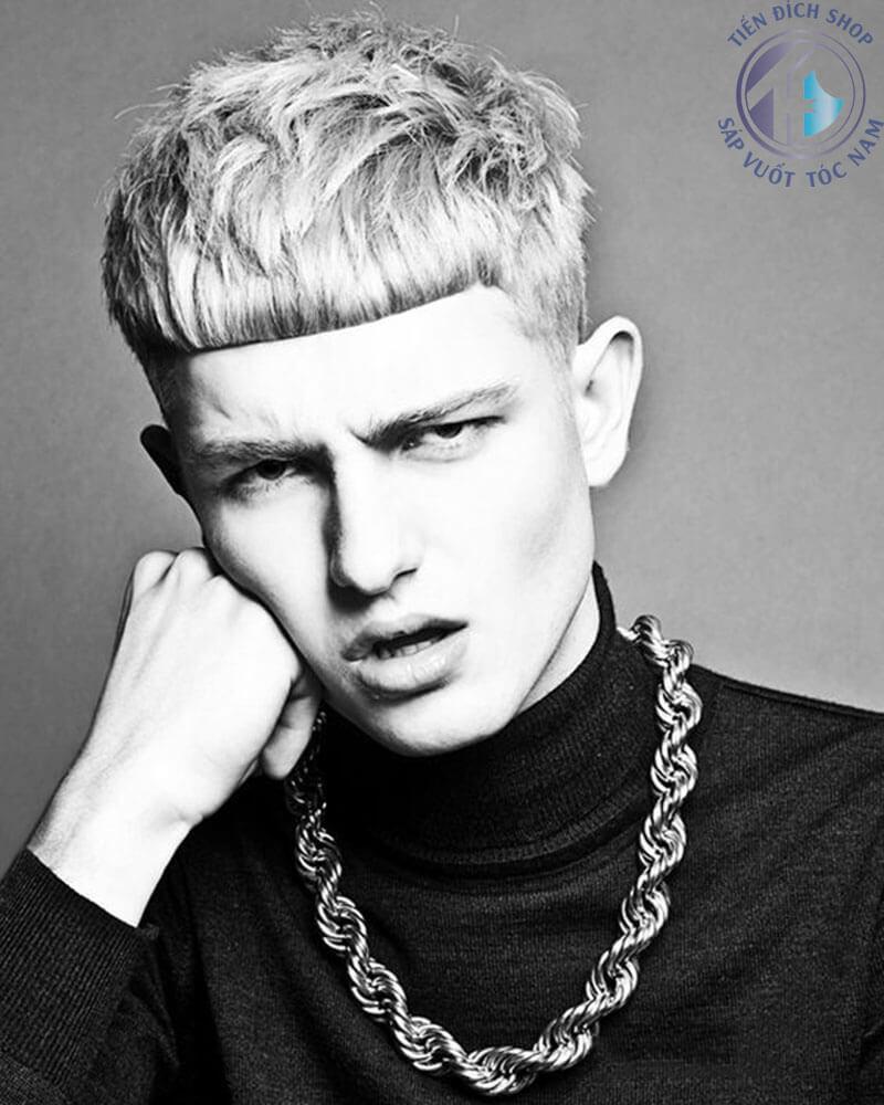 Kiểu tóc nam Textured crop đẹp, xu hướng mới trong năm 2018