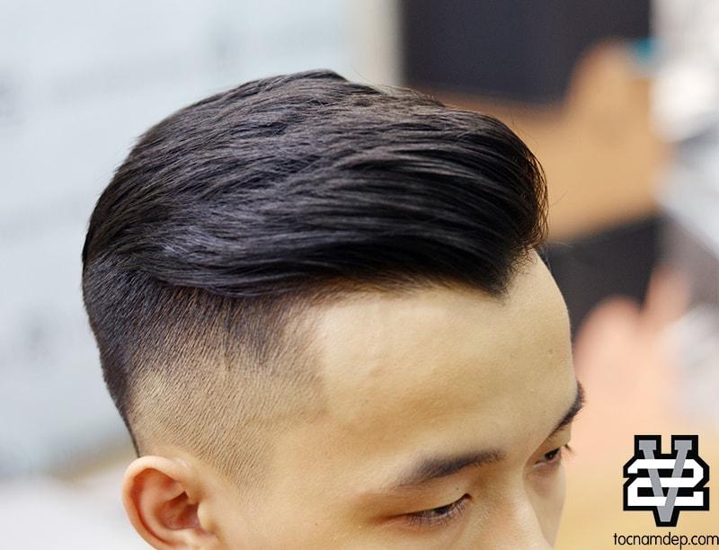 kiểu tóc nam đẹp Pompadour 2018