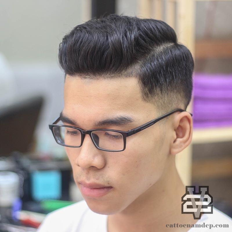 kiểu tóc Pompaduor Quiff