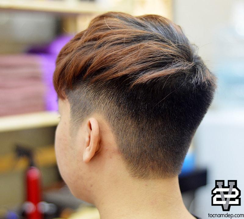 kiểu tóc nam đẹp Tow Block cut