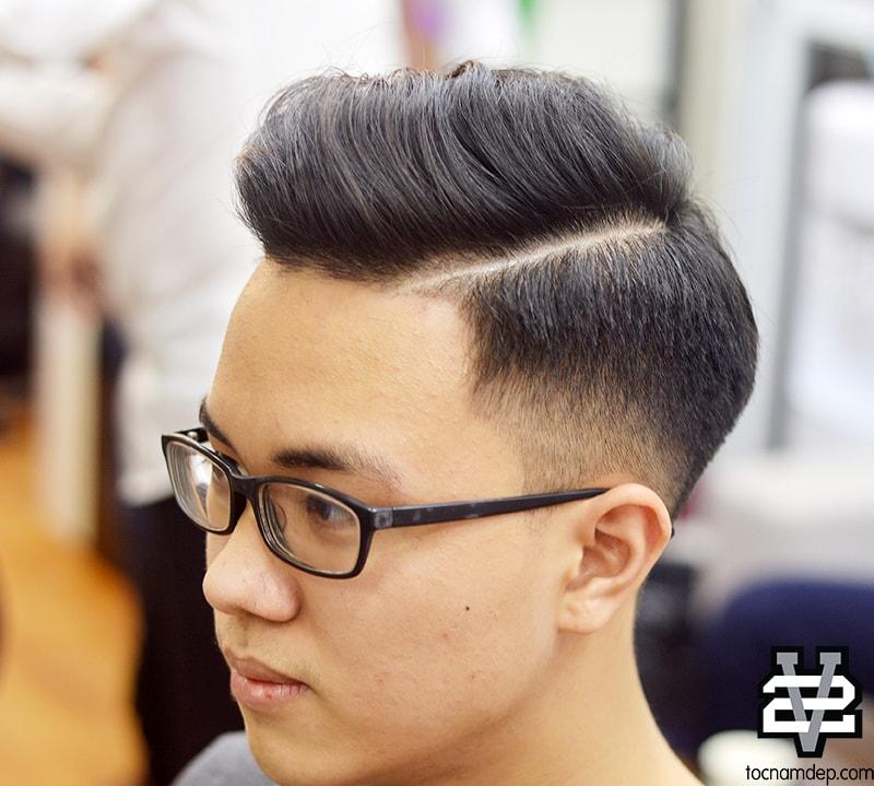 kiểu tóc Undercuts Wavy