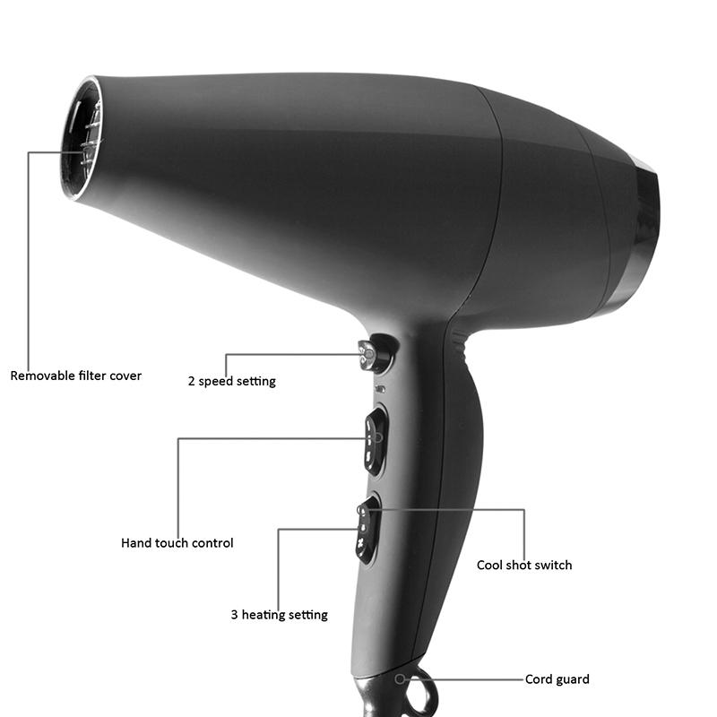nguyên lý hoạt động của máy sấy tóc