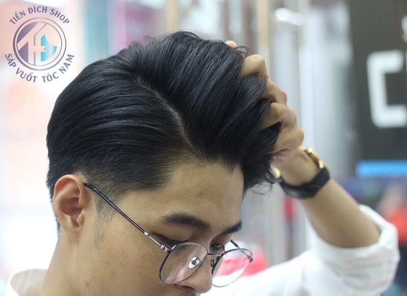 tạo kiểu tóc nam đẹp cùng Blumaan Cavalier Heavy Clay