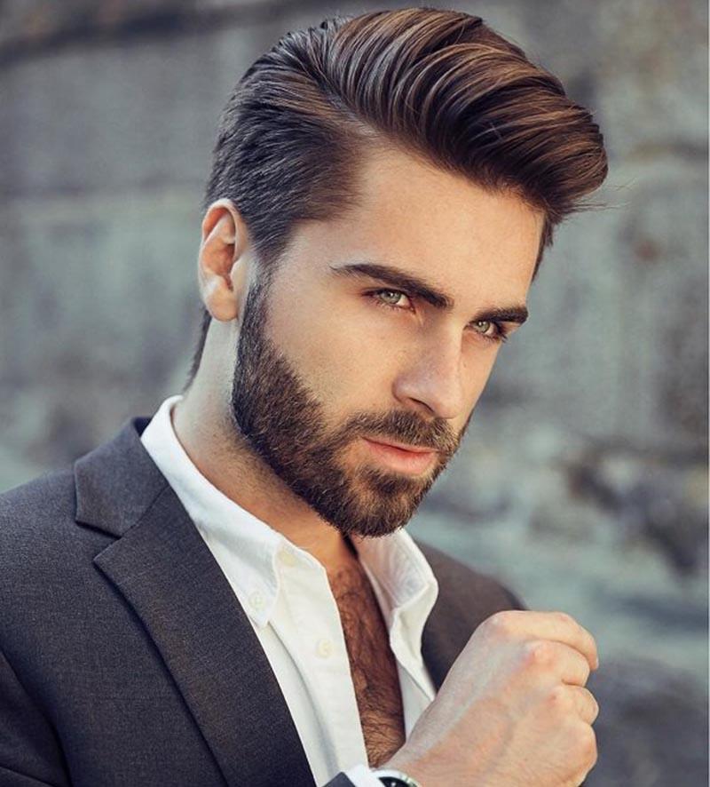 tóc cứng và dày ở nam giới