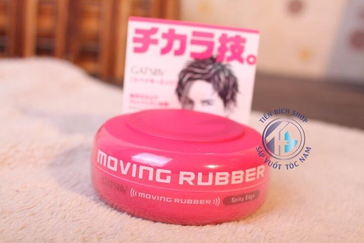 sáp vuốt tóc gatsby moving rubber hồng