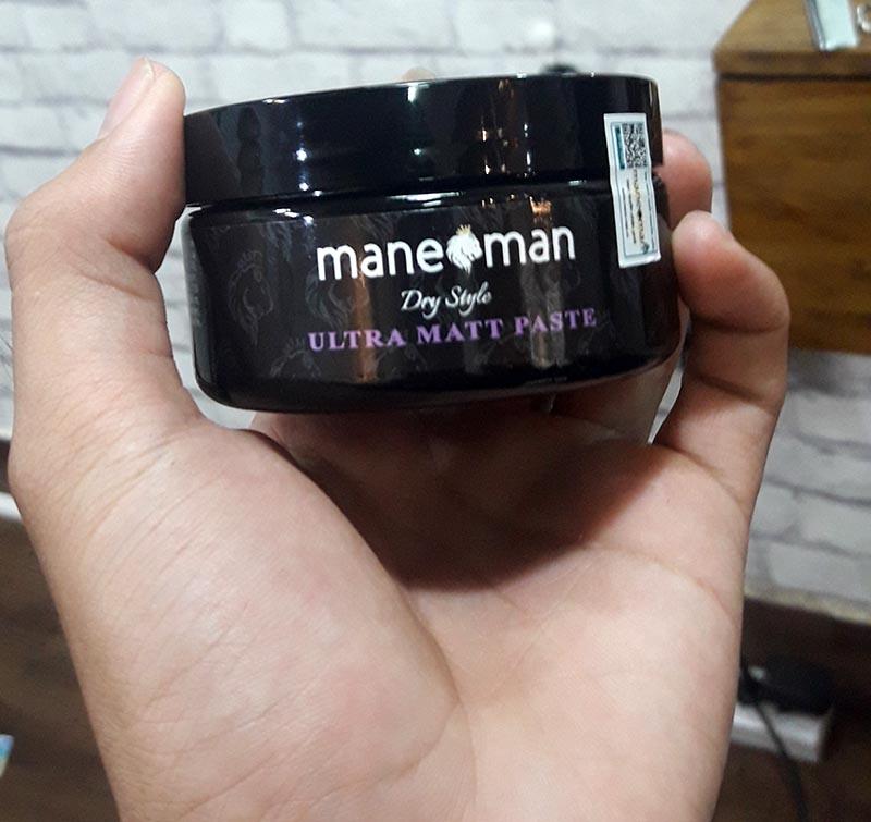 đánh giá Sáp vuốt tóc Mane-Man Ultra Matt Paste