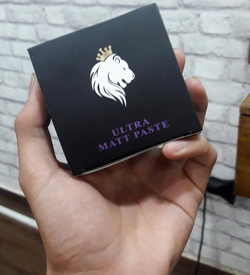 chất sáp Sáp vuốt tóc Mane-Man Ultra Matt Paste