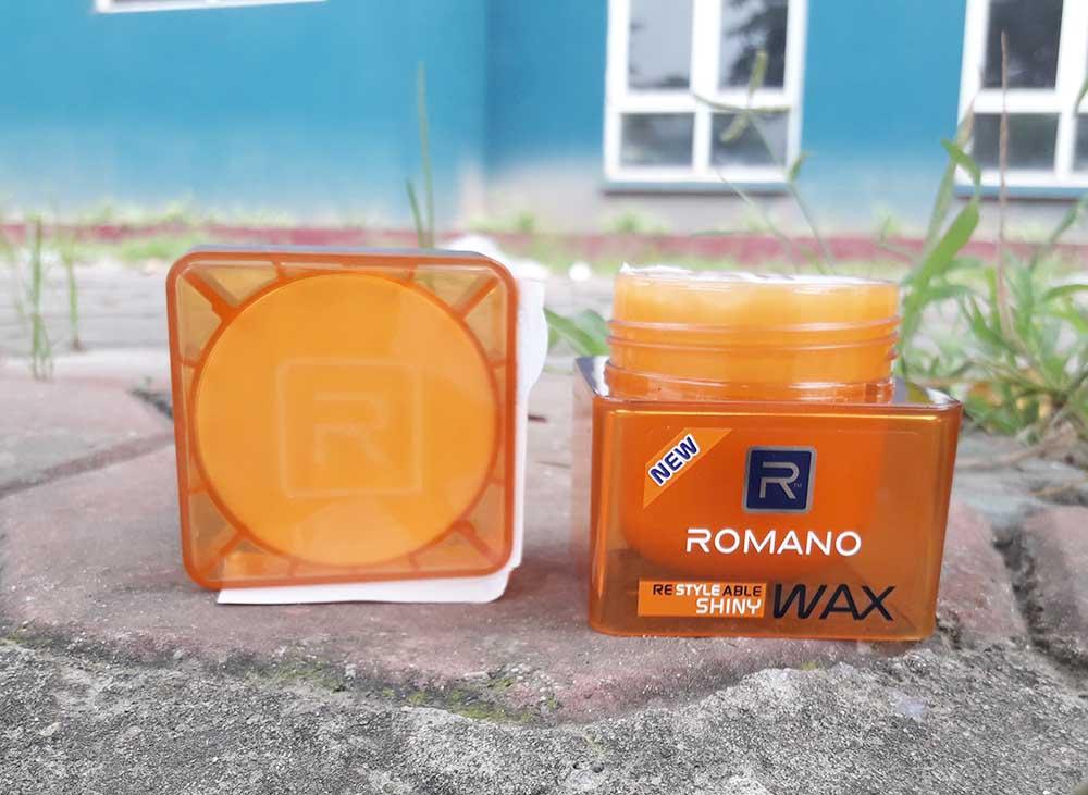 Giới thiệu về sáp vuốt tóc Romano