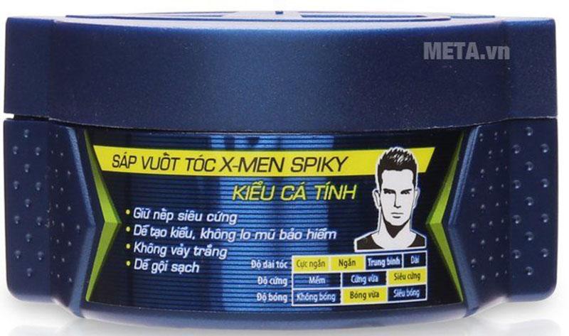 Sáp vuốt tóc X-men