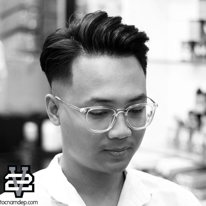 kiểu tóc nam dep 2018
