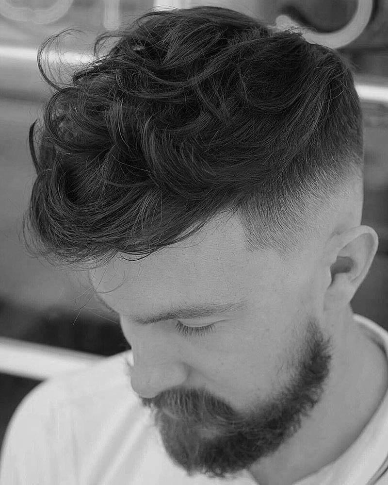 Kiểu tóc xoăn nam lượn sóng