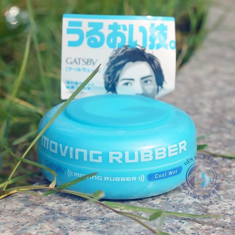 sáp vuốt tóc nam gatsbe moving rubber xanh blue