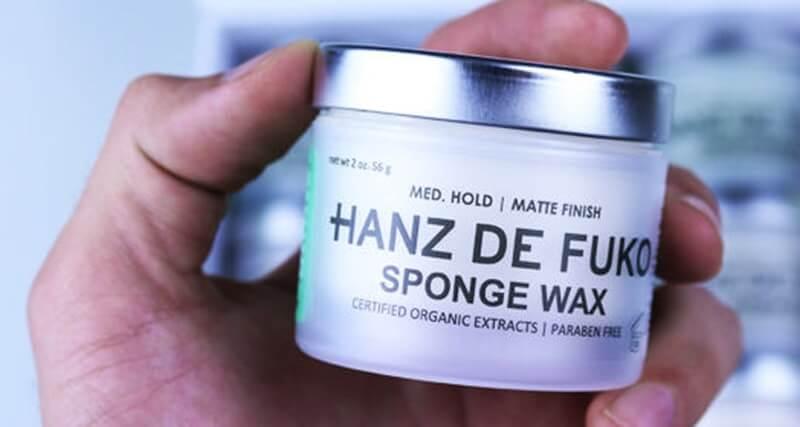 Sáp vuốt tóc Hanz De Fuko Sponge Wax