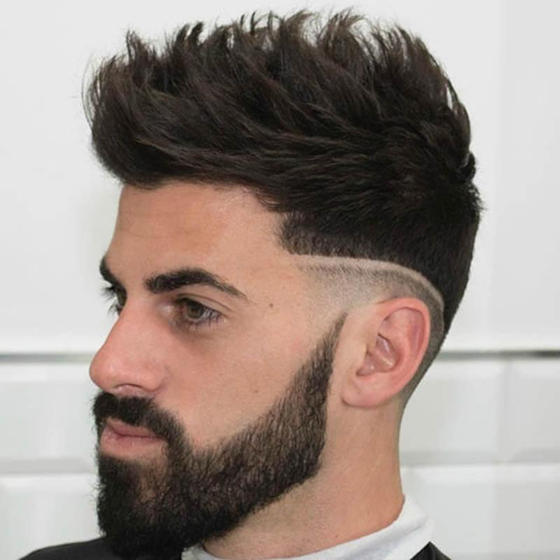 Xu hướng kiểu tóc tỉa dựng textured dành cho phái mạnh 2018