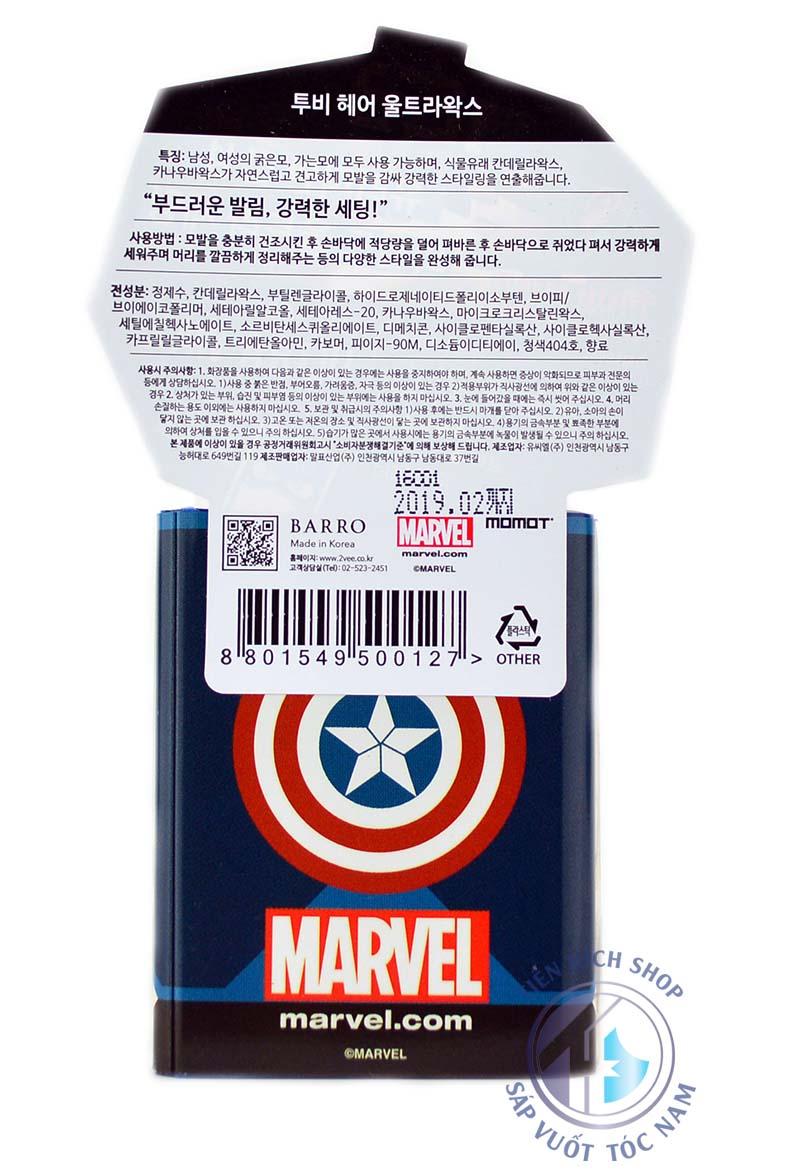 2Vee Ultra Wax Captain America cao cap