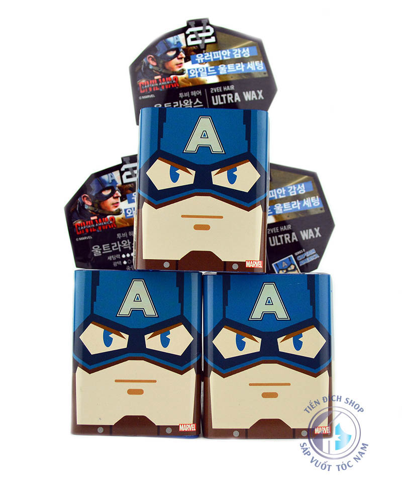 sáp vuốt tóc 2Vee Ultra Wax Captain America