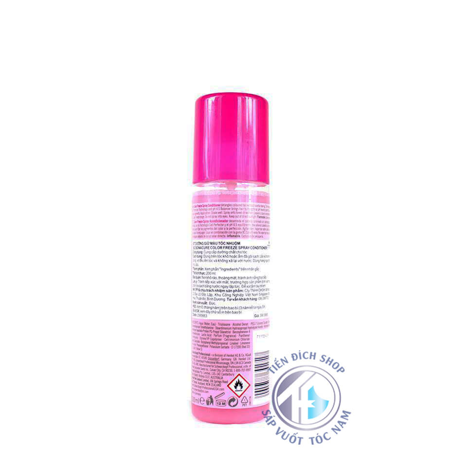 review Bonacure Color Freeze Spray Conditioner