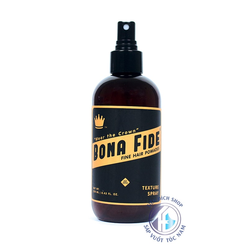 Bona Fide Texture Spray 2019
