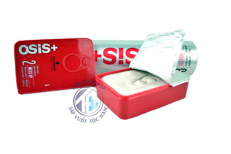 Gôm Osis+ 3 300ml và Sáp Osis+ 2 Mess Up 100% Schwarzkopf chất lượng