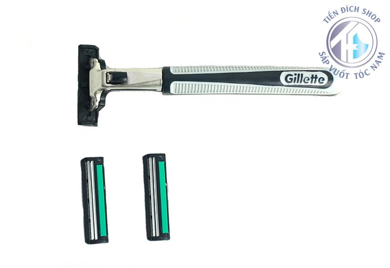 Dao Cạo Râu Gillette Vector 2 lưỡi chất lượng