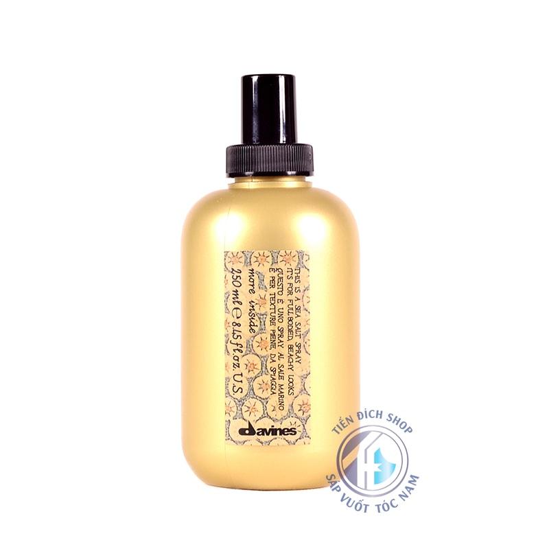 Davines Sea Salt Spray 250ml bảo vệ mái tóc khỏi máy sấy