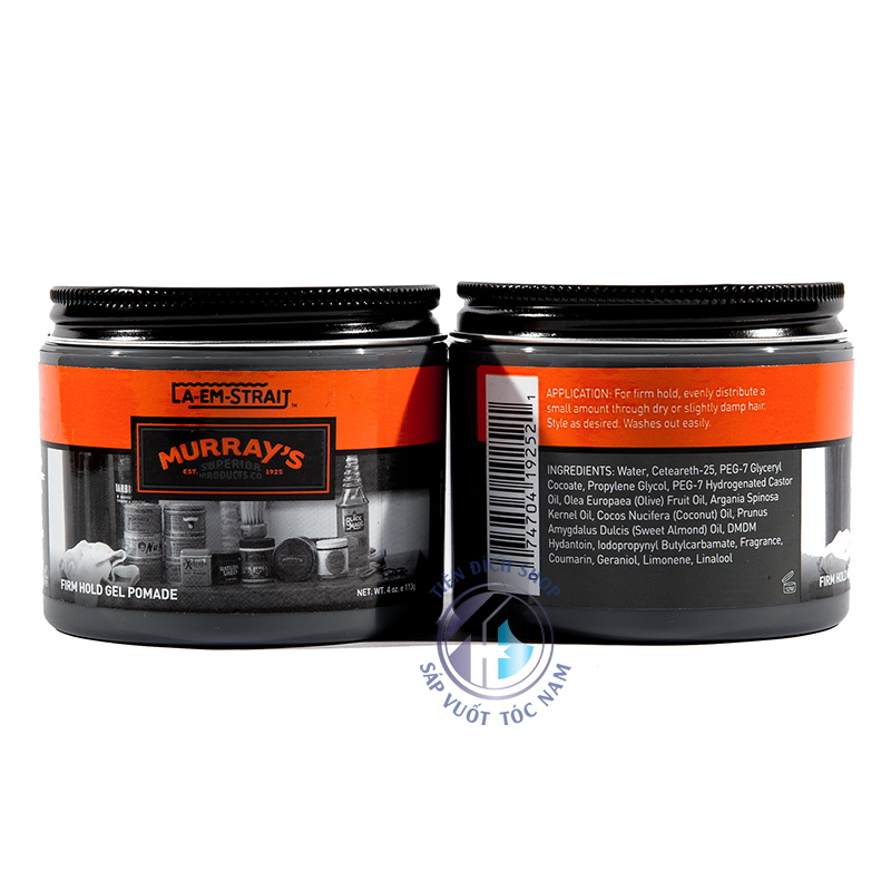 Murrays La Em Strait Firm Hold Gel Pomade mỹ