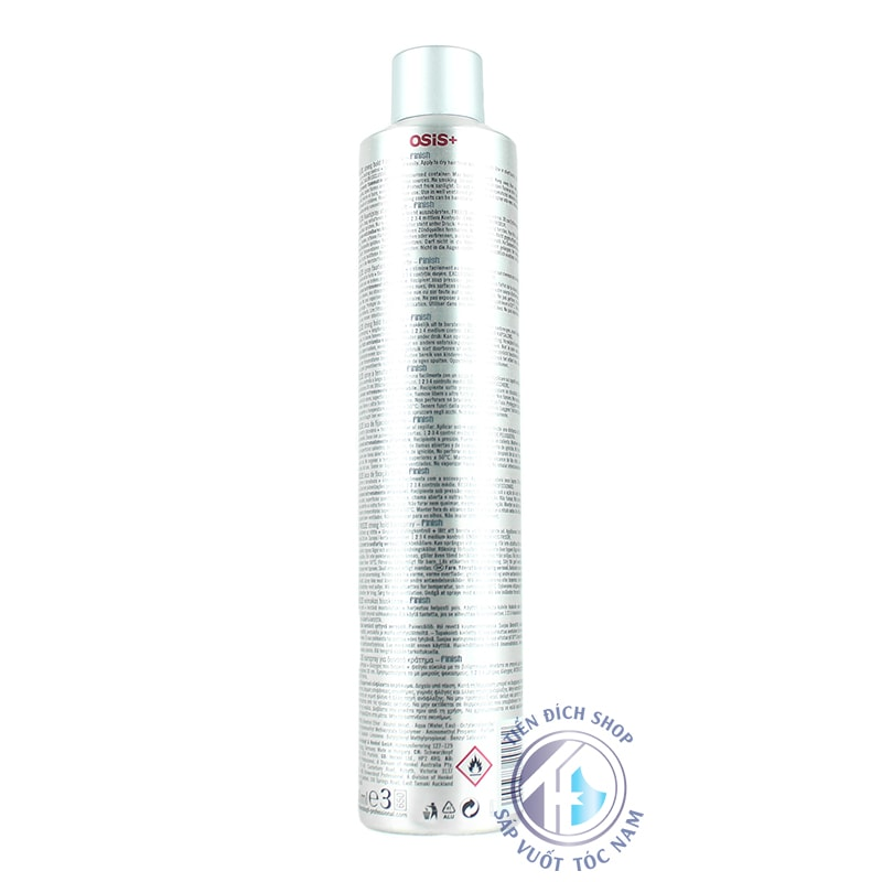 gôm xịt tóc Osis+ 2 Freeze Finish 500ml