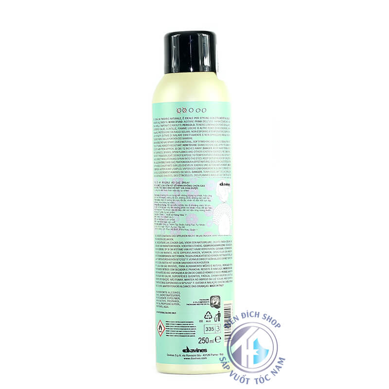 keo xịt tóc Davines Invisible No Gas 250ml