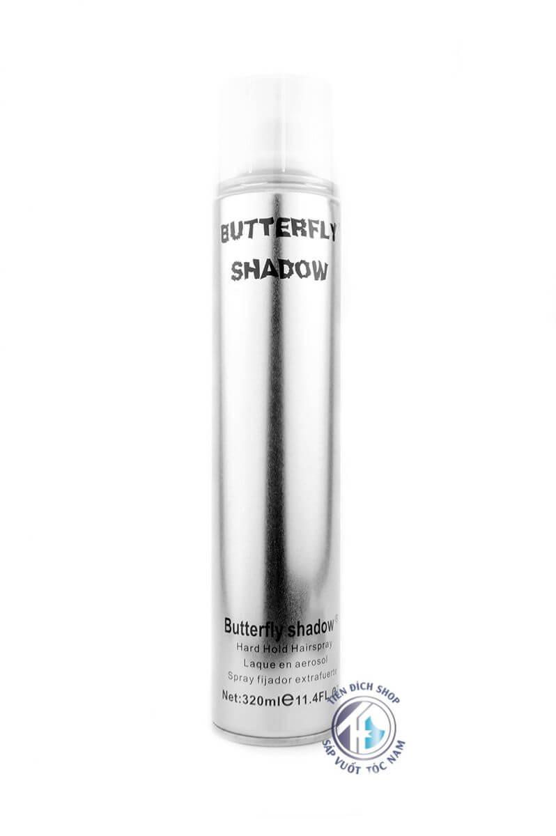 Gôm xịt tóc nam BUTTERFLY SHADOW 320ml