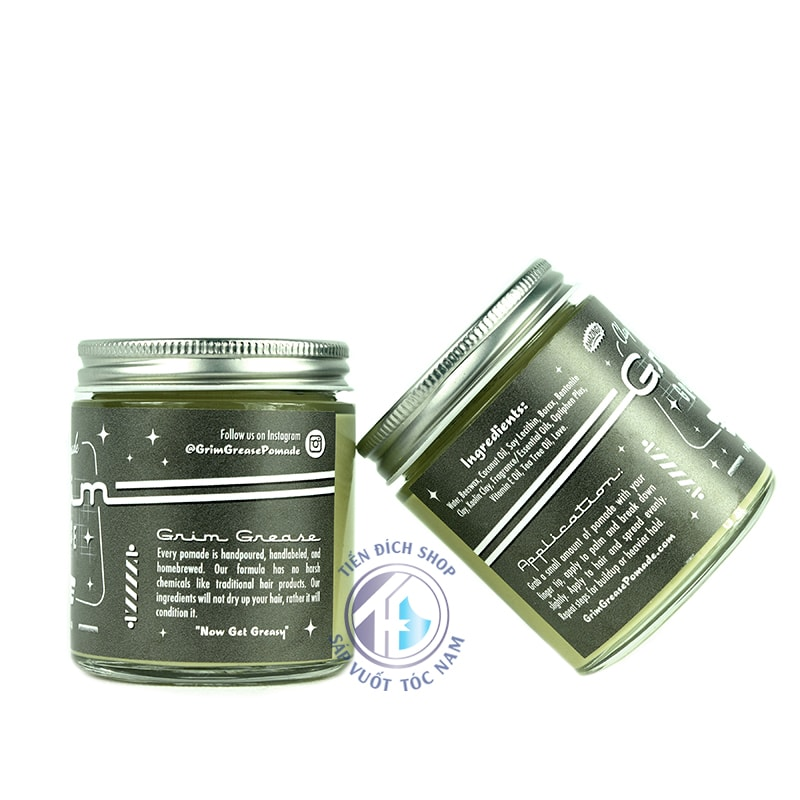Grim Grease Clay Pomade chất lượng mỹ