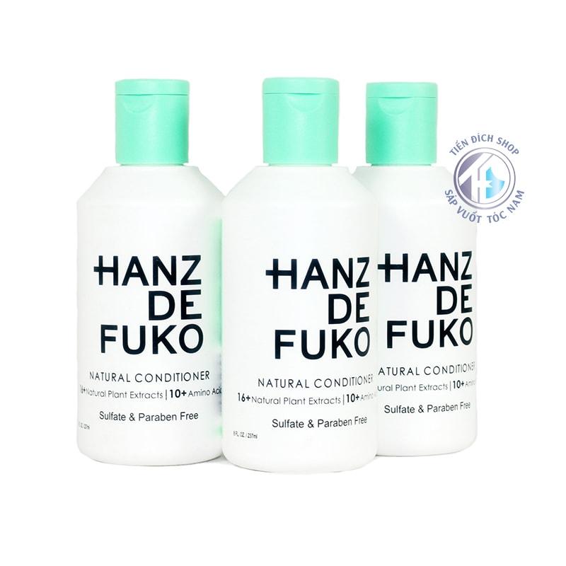 dầu xả Hanz De Fuko Natural Conditioner cao cấp
