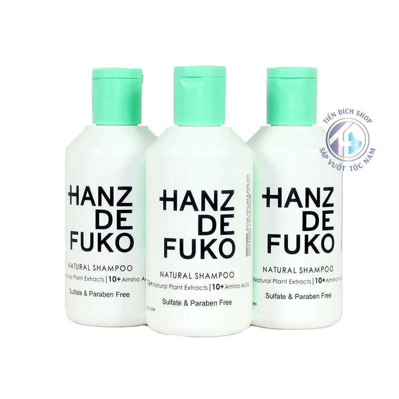dầu gội đầu Hanz De Fuko Natural Shampoo