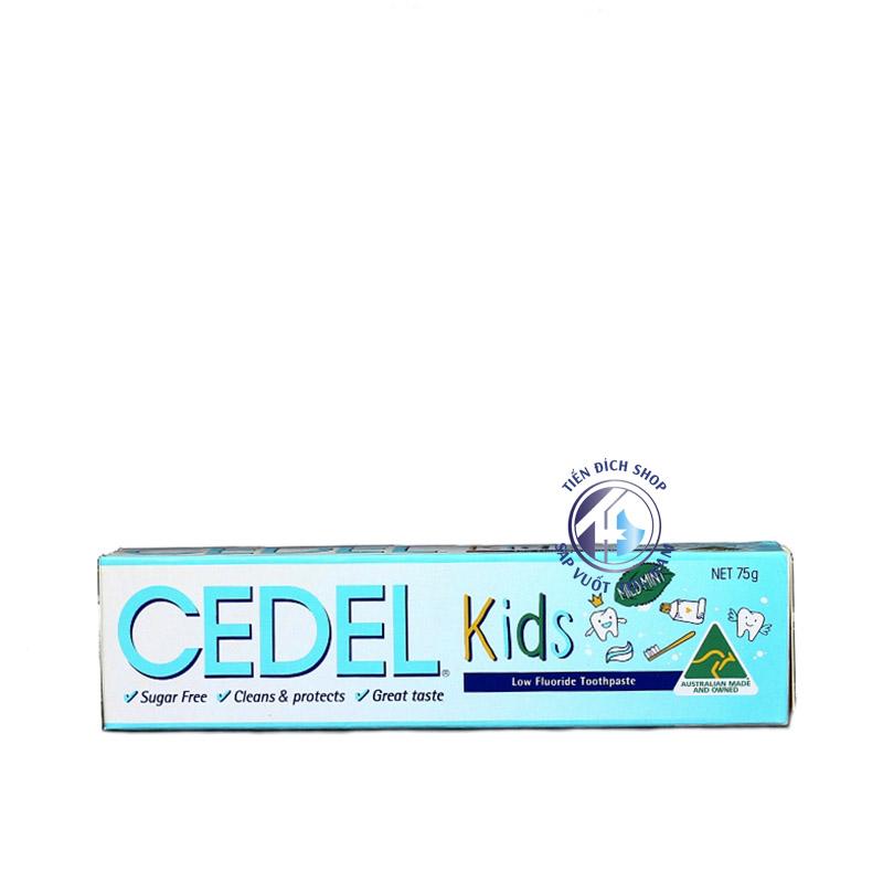 Kem đánh răng CEDEL KIDS 75g cho trẻ em bé