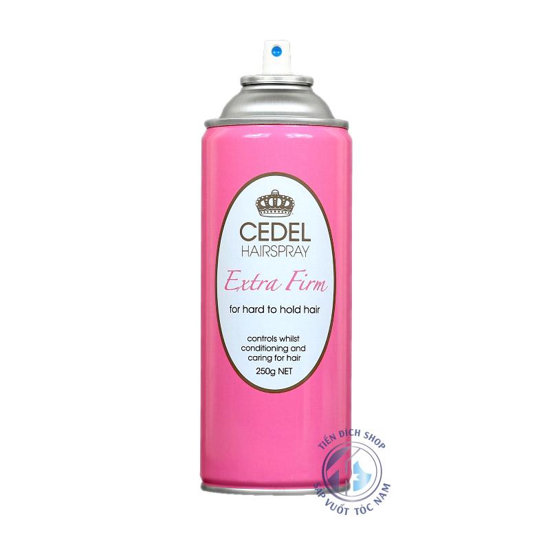 Keo xịt tóc Cedel Hairspray