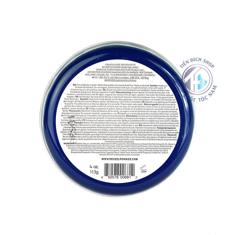 Reuzel Fiber Pomade chất lượng hà lan