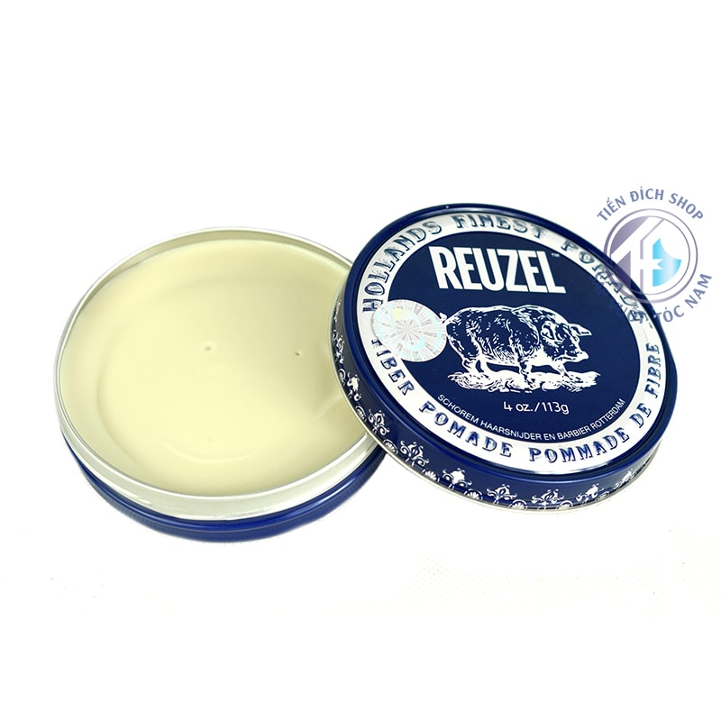 wax vuốt tóc cho nam Reuzel Fiber Pomade