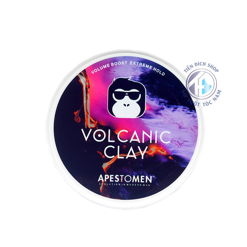 Sáp vuốt tóc cho nam Apestomen Volcanic Clay