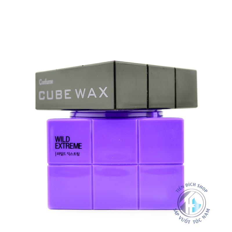 Sáp vuốt tóc cao cấp hàn quốc Cube Wax Wild Extreme