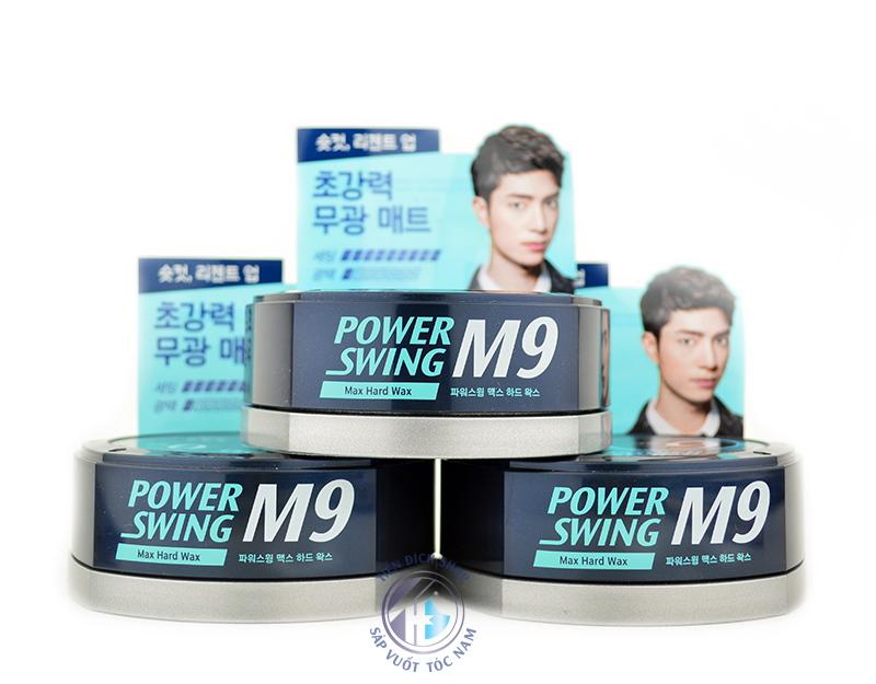 sáp vuốt tóc M9 Power Swing Max Hard Wax