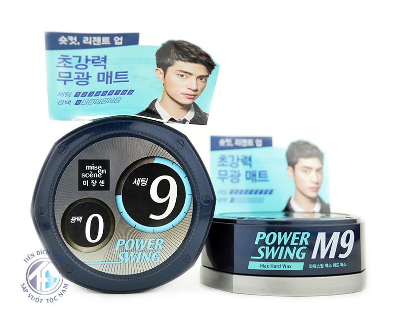 sáp M9 Power Swing Max Hard Wax