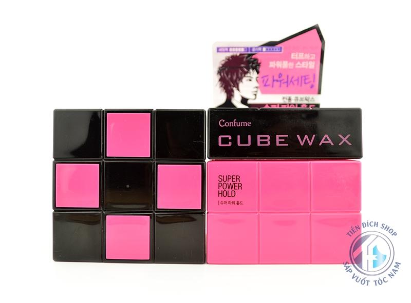 sáp vuốt tóc Cube Wax Super Power Hold
