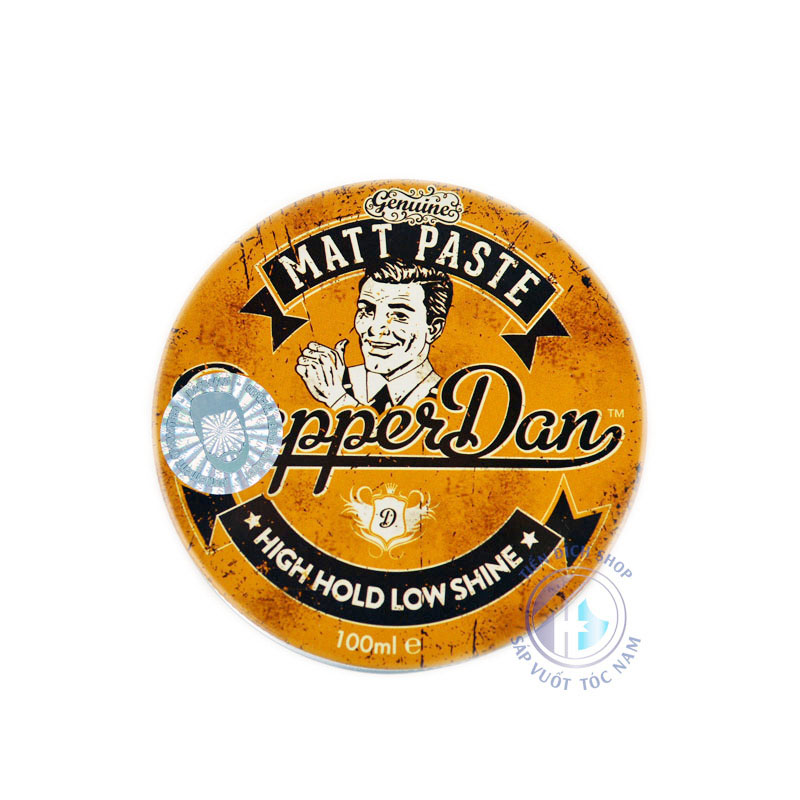 Sáp vuốt tóc cao cấp Dapper Dan Matt Paste