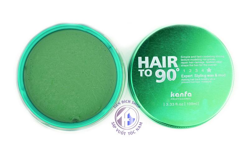 Sáp vuốt tóc Hair To 90 Kanfa Xanh