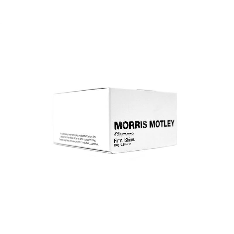 Sáp vuốt tóc nam Morris Motley Chrome.