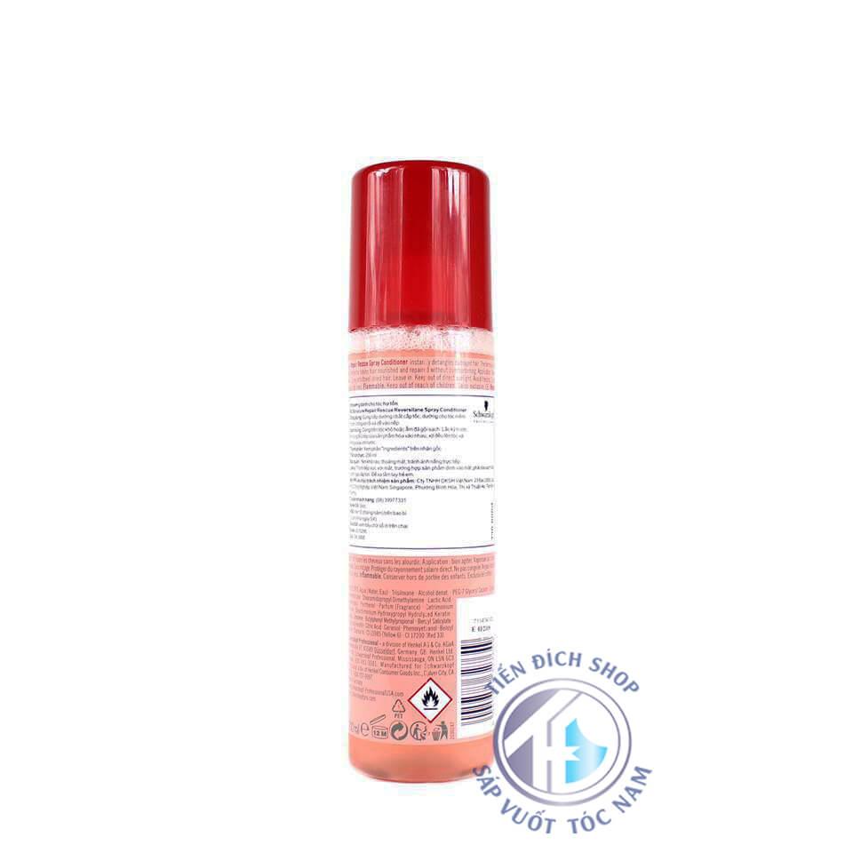 dầu dưỡng tóc Schwarzkopf BC Repair Spray