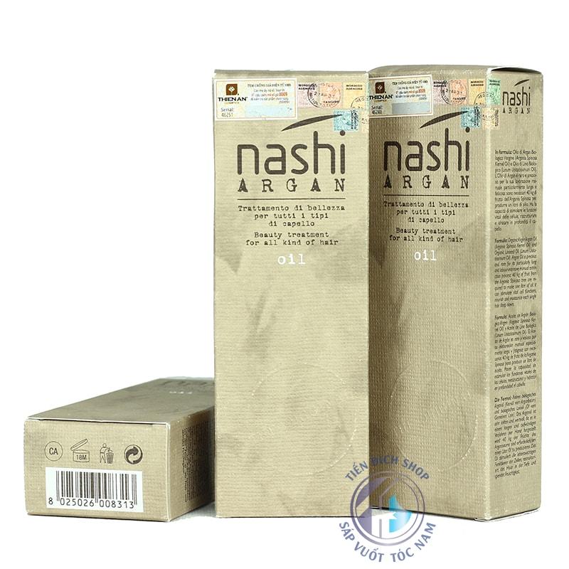 Tinh dầu dưỡng tóc Nashi Argan 100ml Ý