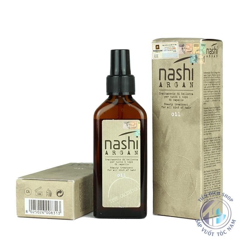 Tinh dầu dưỡng tóc cao cấp Nashi Argan 100ml Ý